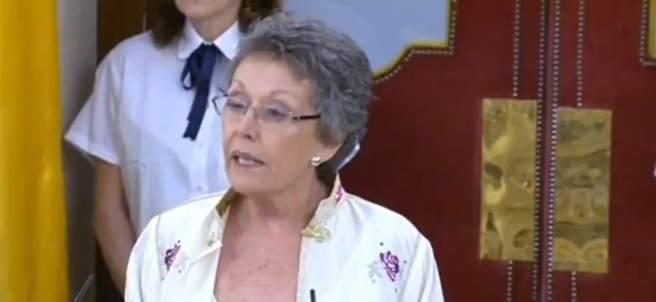 Rosa María Mateo promete su cargo como administradora única de RTVE.
