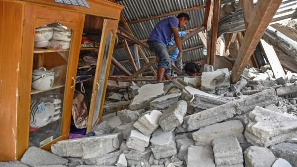 El pánico vuelve a apoderarse de la isla de Lombok