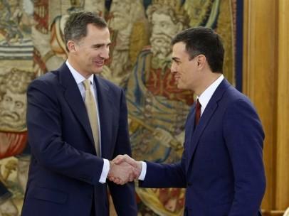 El Rey Felipe VI y el Presidente del Gobierno