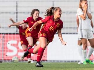 María Llompart, jugadora de Selección sub19.