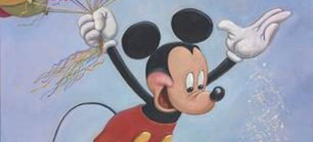 Retrato Mickey Mouse Disney