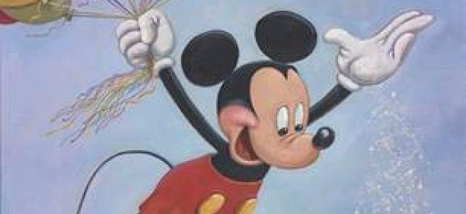 Retrato Mickey Mouse Disney