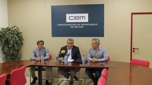 El presidente de Apoma, Sergio Cuberos