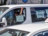 Huelga de taxistas en Bilbao