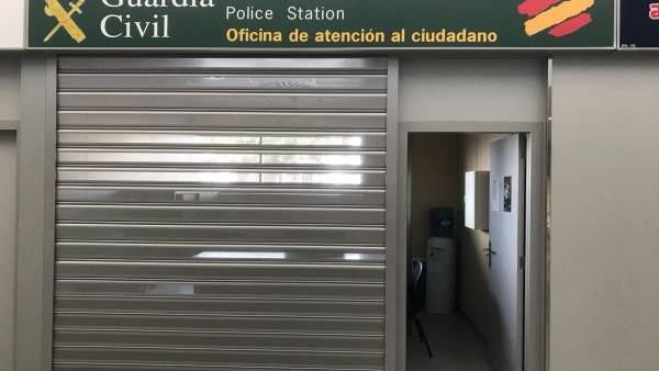 Oficina Guardia Civil del aeropuerto de Ibiza