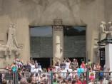 Turistas en la Sagrada Família
