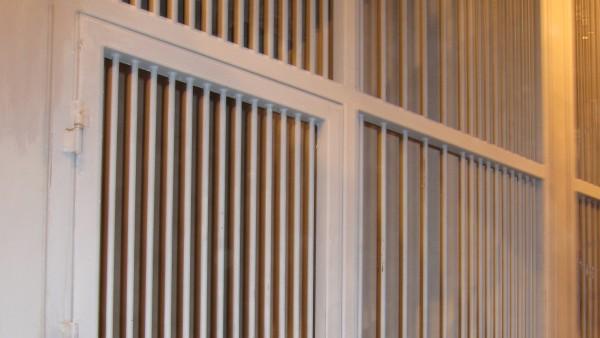 Celda Del Nuevo Edificio De La Audiencia Provincial De Zaragoza. Calabozos