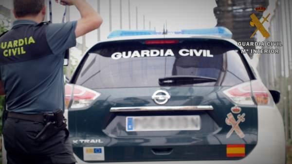 Vehículo de la Guardia Civil
