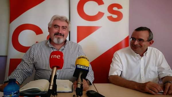 Soria: Delgado (I) Y Jesús De Lozar (D) 1-8-2018