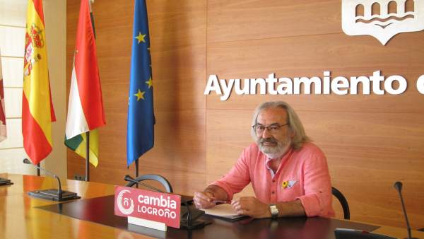 Concejal De 'Cambia Logroño', José Manuel Zúñiga