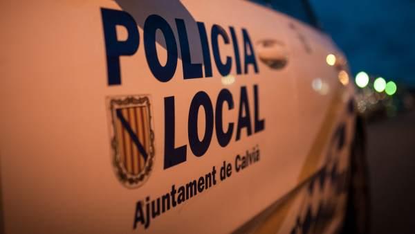 Patrulla de la Policía Local de Calvià