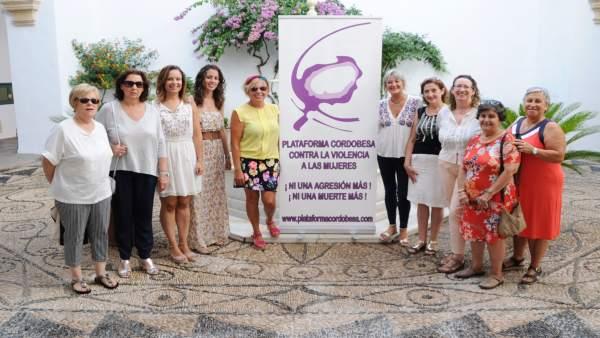 La Diputación suscribe el convenio con la Plataforma contra Violencia a Mujeres