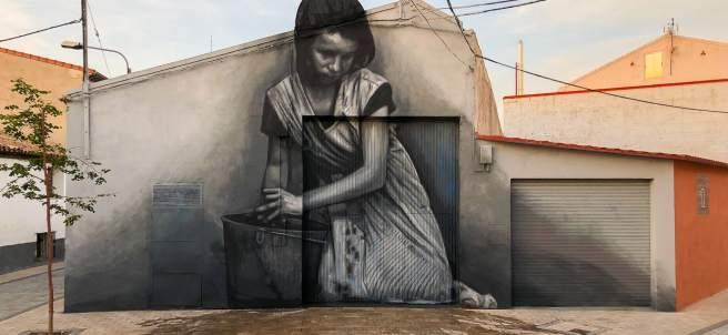Mural de Cristian Blanxer