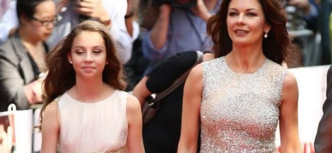 Catherine Zeta-Jones y su hija