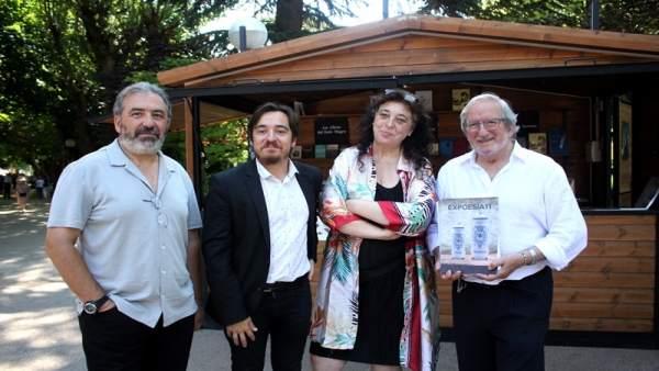Presentación de la XI Feria del Libro de Soria.
