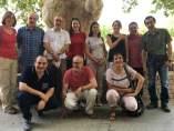 Técnicos de Afrucat con los inspectores mexicanos que han visitado centrales