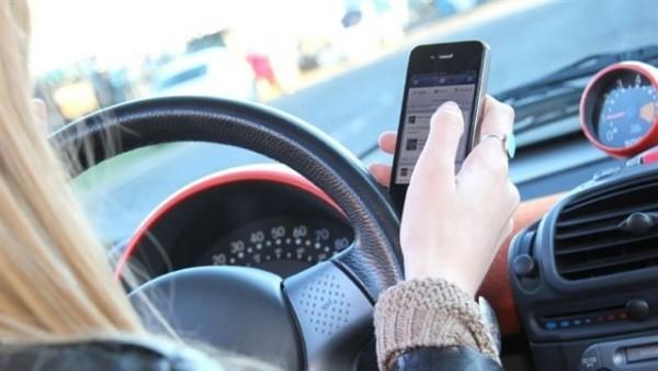 Con el móvil al volante