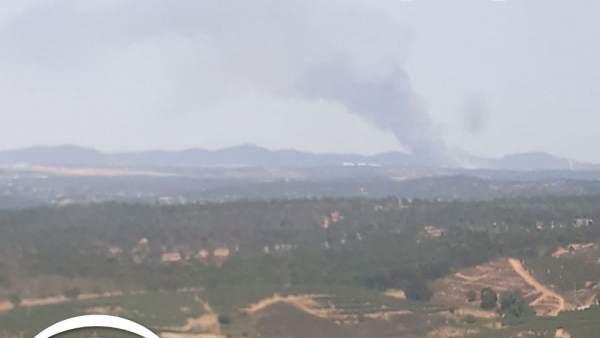Incendio en Campofrío