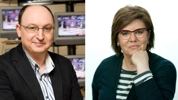 Fran Llorente y María Escario