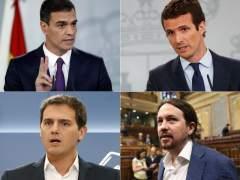 Así ha evolucionado el voto y la imagen de los líderes políticos