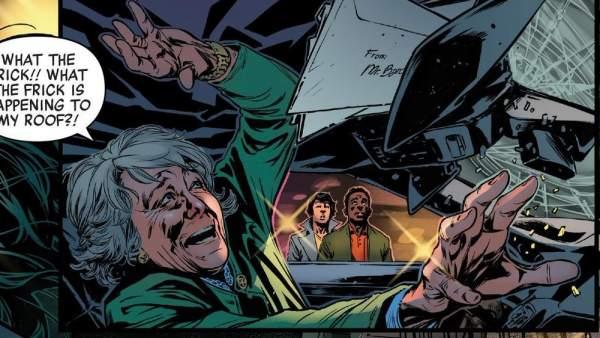 Esperanza Aguirre aparece en un cómic de Marvel.