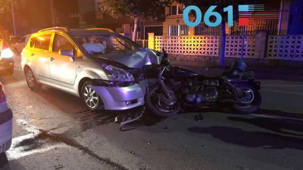 Accidente en Laredo