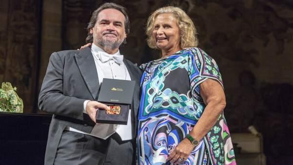 Josep Bros e Isabel Suqué