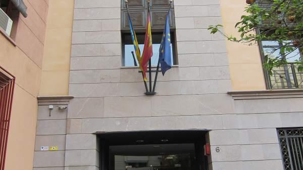 Sede Del Instituto Valenciano De Finanzas (IVF).