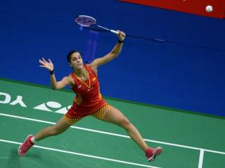 Carolina Marín en el Mundial de Nanjing