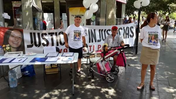 Campaña para Paula, la joven atropellada en Sa Ràpita