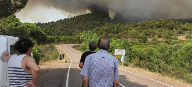 Incendio en Nerva, Huelva