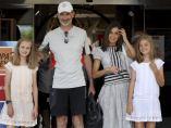 La familia real, en el Club Náutico de Palma de Mallorca