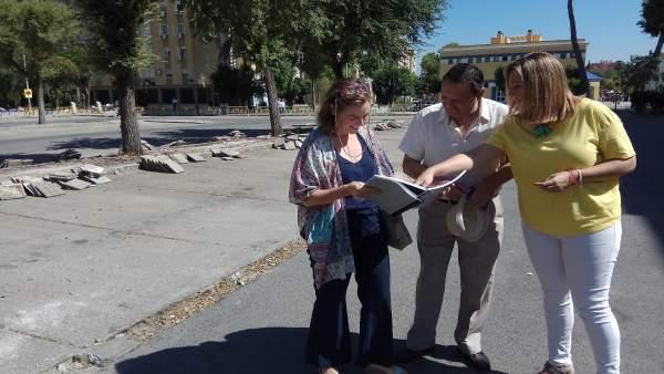 Obras en el distrito Norte