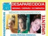 Cartel que la asociación Sosdesaparecidos a difundido a través de su web