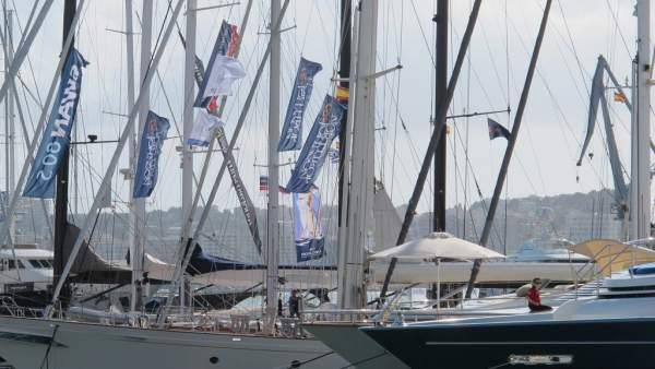 Barcos en el Moll Vell de Palma