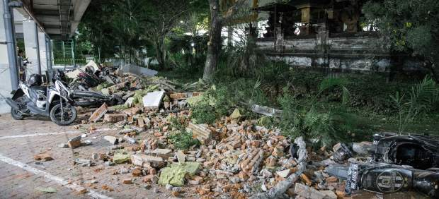 Terremoto en Indoneia