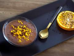 Receta de mousse de chocolate a la naranja