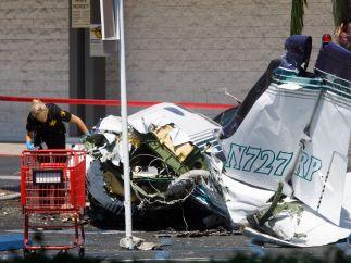 Accidente de avión en California
