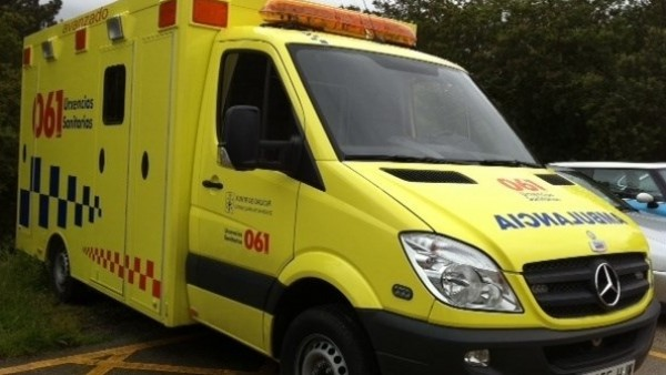 Ambulancia del 061.