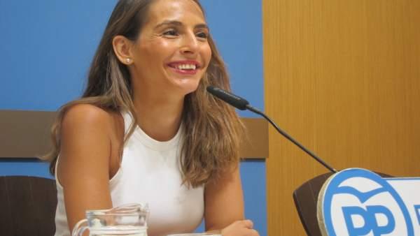 La concejal del grupo municipal del PP, María Navarro.