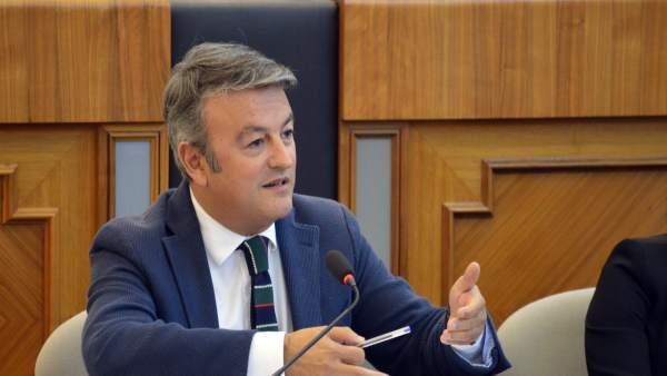 José Chulvi, secretario provincial del PSPV-PSOE en Alicante, archivo