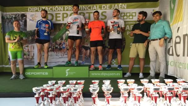 Enttrega de premios de la XVI Carrera Urbana Villa de Bedmar.