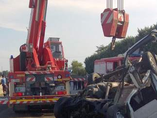 Accidente en Italia