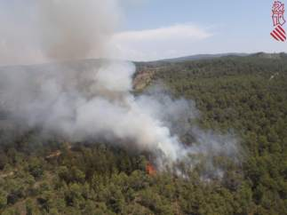 Incendio Forestal en Tuéjar (Valencia)