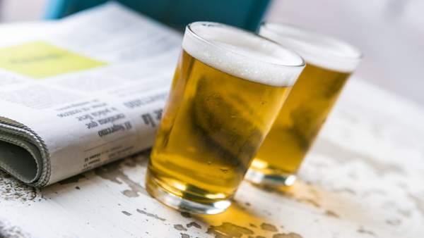 Cañas de cerveza