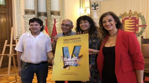 Presentación del cartel de las fiestas de Valladolid 2018