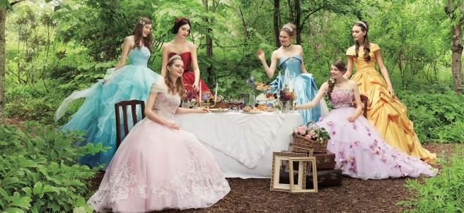 Vestidos de boda de Disney