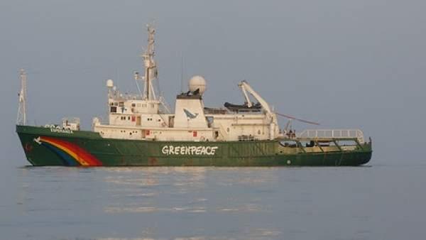 Barco Esperanza, de Greenpeace