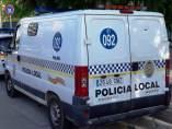 Furgoneta de la Polícia Local de Palma