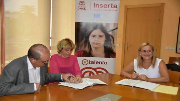 Convenio firmado enrte Inserta y Fuengirola